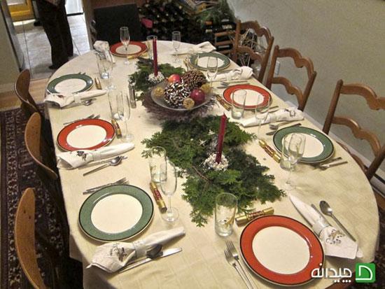 تزیین میز غذا به اندازه آشپزی مهم است!