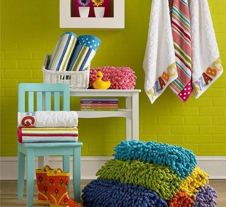 به دکوراسیون حمام کوچک خود رنگ و لعاب بدهید!