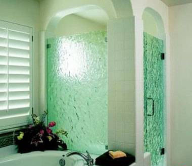 طرح های بارانی شیشه های مشجر