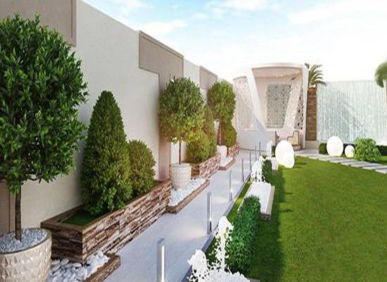 ایده های محوطه سازی حیاط ویلایی