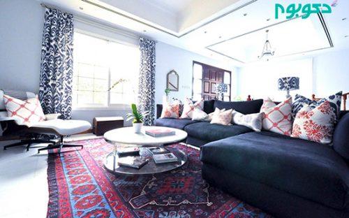 انتخاب رنگ فرش در منزل