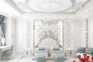 اتاق خواب سلطنتی و لاکچری به سبک ۲۰۱۸