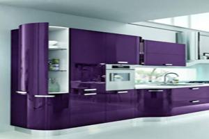 کابینت آشپزخانه به رنگ سال ۲۰۱۸