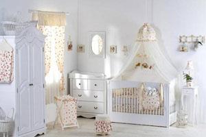 اتاقی ایده آل و همه چیز تمام برای نوزاد