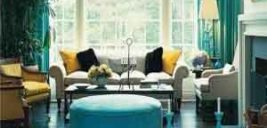 دکوراسیونی با رنگ های آبی, نعنایی و سبز بچینید!