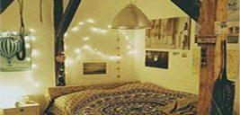 ۵ ایده فوق العاده زیبا برای تزیین دیوار اتاق خواب