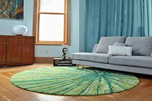 روش ست کردن فرش با وسایل خانه