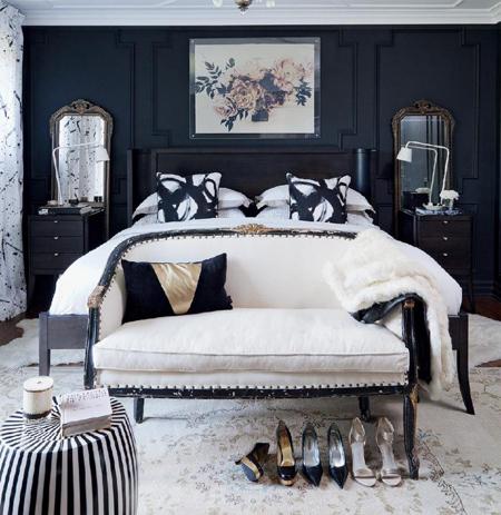 دکوراسیون اتاق خواب رمانتیک