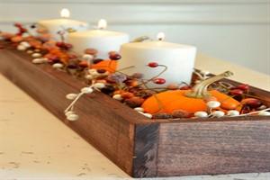 تغییر دکوراسیون پاییزی خانه با نماد های پاییز