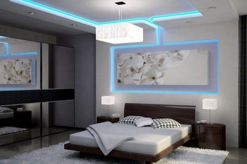 نورپردازی سقف خانه