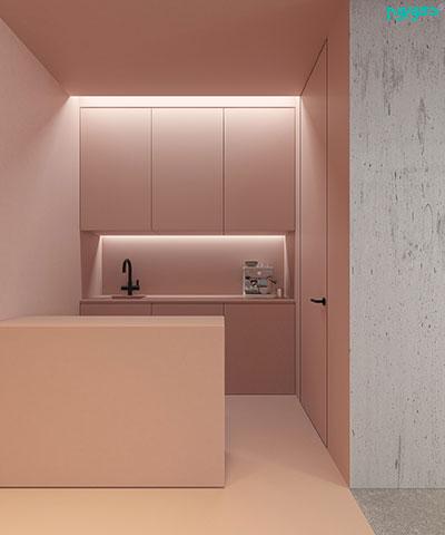 آشپزخانه صورتی