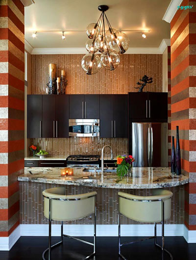 دیوار آشپزخانه