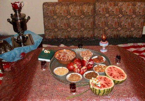 دکوراسیون مخصوص شب یلدا