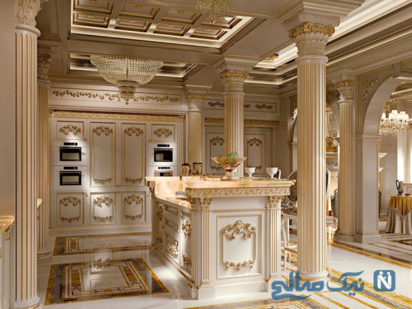 نمونه ای از فضاهای مسکونی کلاسیک ، برای طرفداران این سبک +تصاویر