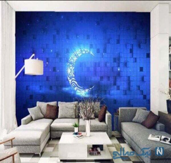 ایده هایی برای استفاده از کاغذ دیواری