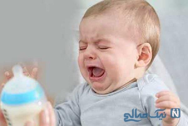 دعایی جالب برای از شیر گرفتن کودک