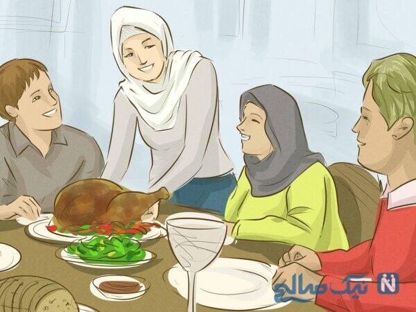 گفتن ذکر بسم الله قبل از غذا