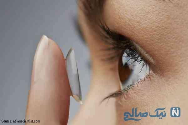 حکم استفاده از لنزهای رنگی برای زنان چیست؟