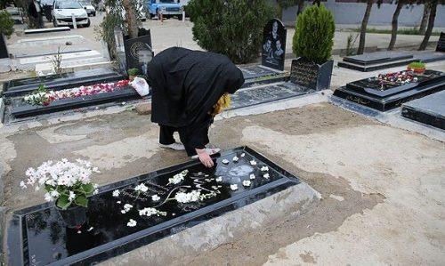 آب ریختن روی قبر