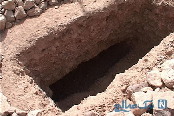 چرا در قبر سنگ لحد می گذارند؟