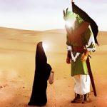 آخرین حرفهای امام حسین با دخترش سکینه