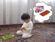 همه فکرهایم را سر نماز میکنم!!