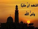 """آیا عبارت """"اشهد ان علیا"""" ولی الله"""" در زمان پیامبر دراذان ذکر می شد؟"""
