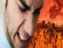 آتشی که آرامش را از بین می برد