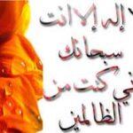 ذکر یونسیه یعنی گفتن: «لا اله الا انت سبحانک انی کنت من الظالمین»