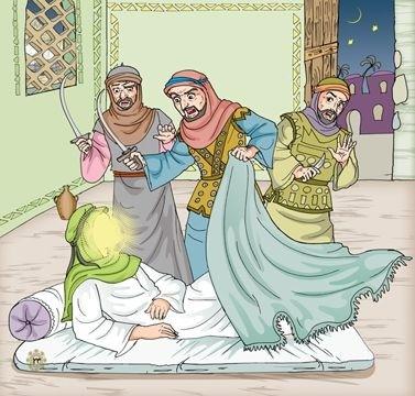در لیله المبیت چرا مشرکان حضرت علی(ع) را به شهادت نرساندند؟