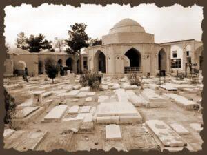 فرشتگان عذاب در قبرستان