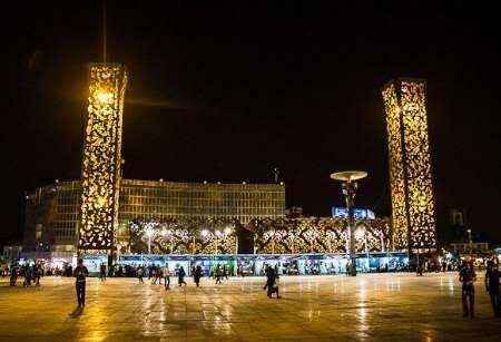 ضیافت الحسین در میدان امام حسین