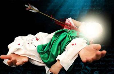شهادت مظلومانه علی اصغر(ع)
