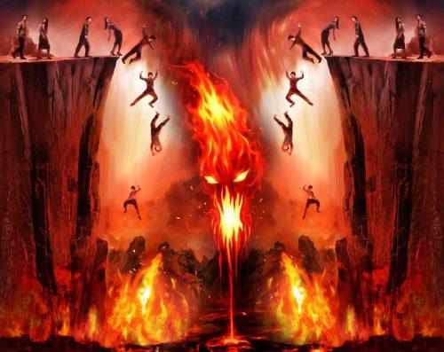 زمان خلق جهنم