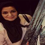 الهام پاوه نژاد در آغوش دخترش