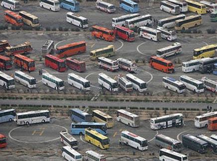 بهای بلیط اتوبوس و قطار