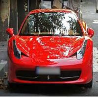 خودرو زیبای ۶ میلیاردی با پلاک ملی درخیابان های پایتخت ! +عکس