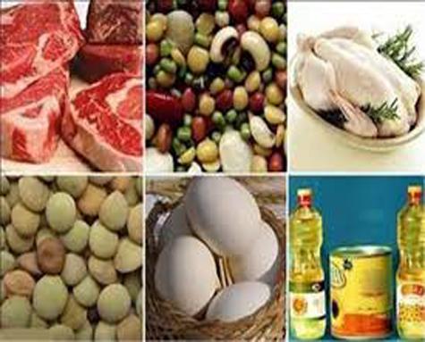 رشد قیمت هشت گروه کالای خوراکی