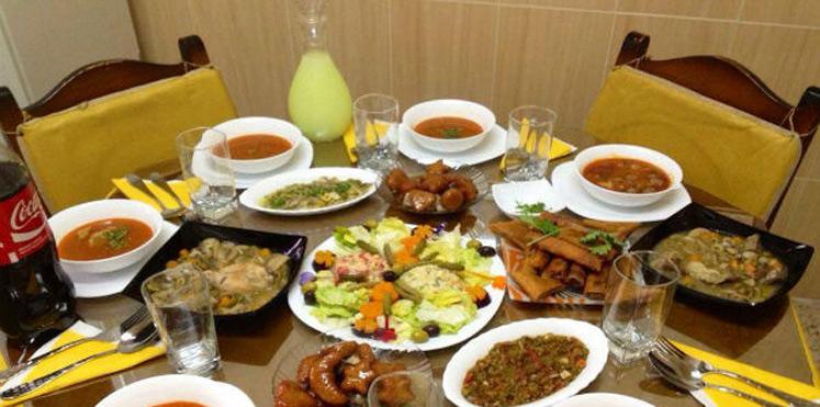 هزینه افطاری در رستوران برای 4 نفر
