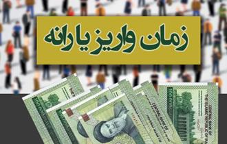 زمان واریز یارانه نقدی خرداد ۹۶ اعلام شد