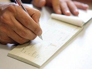 چگونه چک را امضاء کنید تا جعل نشود؟