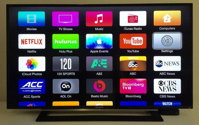 رونمایی از تلویزیون جدید اپل