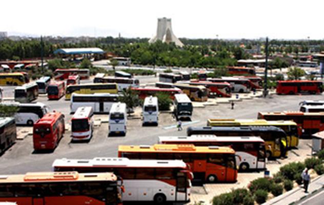 قیمت بلیت اتوبوس در ایام اربعین