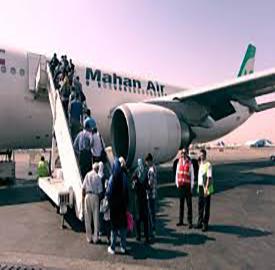 نرخ پروازهای عتبات عالیات در ایام اربعین اعلام شد