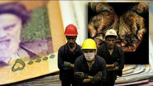 درصد افزایش دستمزد کارگران