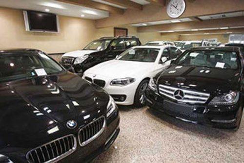 فروش خودروهای وارداتی