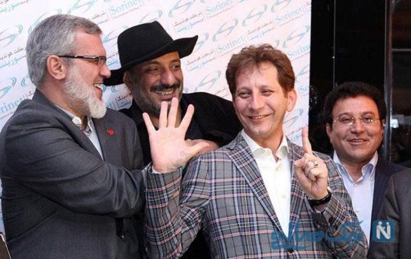 امیر جعفری و بابک زنجانی