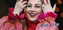 تیپ جدید بهنوش بختیاری بازیگر سینما با لباس قشقایی