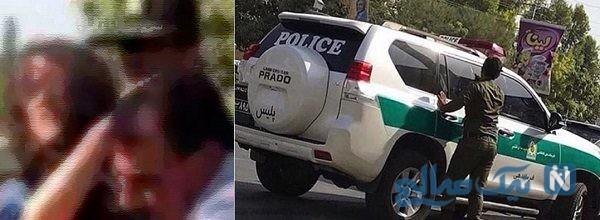 انتقادهایی از نحوه درگیری پلیس با دختر تهرانپارس