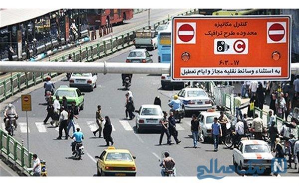 رضایت پلیس از اجرای طرح جدید ترافیکی تهران